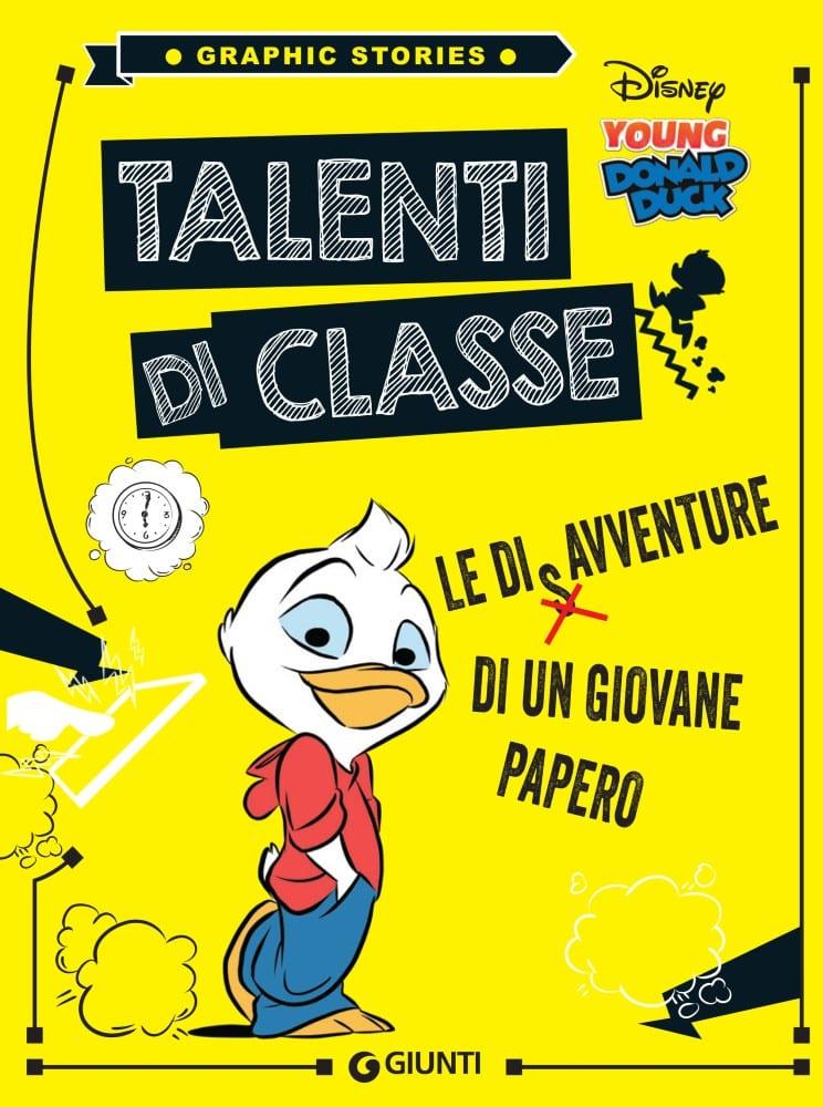 Talenti di Classe è la prima storia della collana per ragazzi Graphic Stories