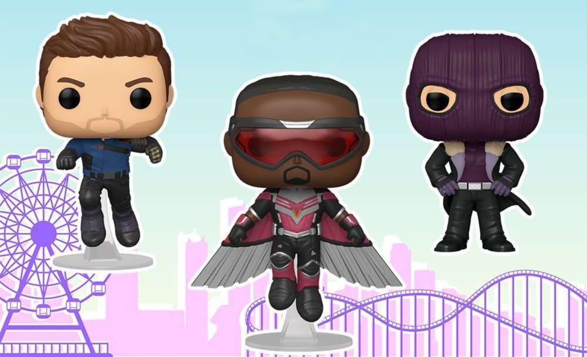 The Falcon and the Winter Soldier: ecco i Funko Pop! della serie Disney+