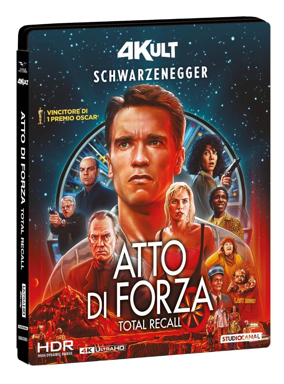 Atto di Forza: il film cult con Arnold Schwarzenegger in 4K edizione limitata