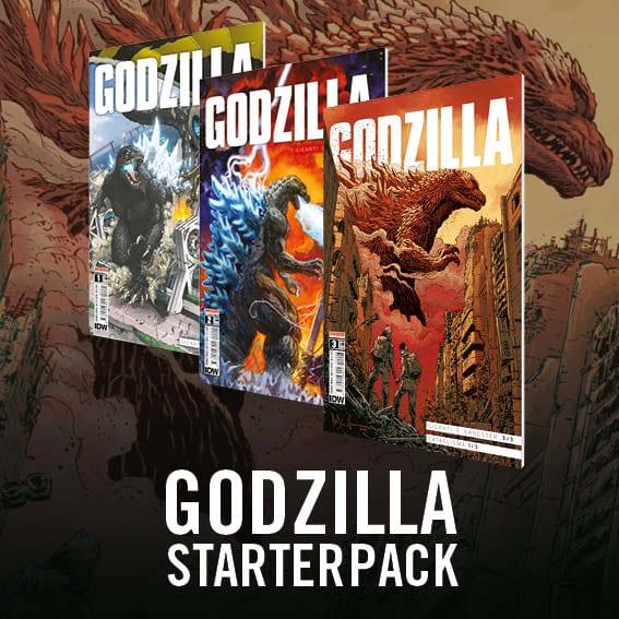 Godzilla pack fumetti