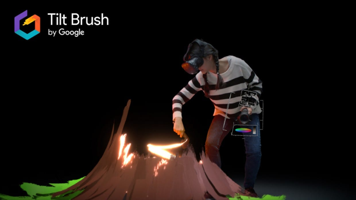 Tilt Brush, il software per dipingere in VR e in 3D di Google, diventa Open Source
