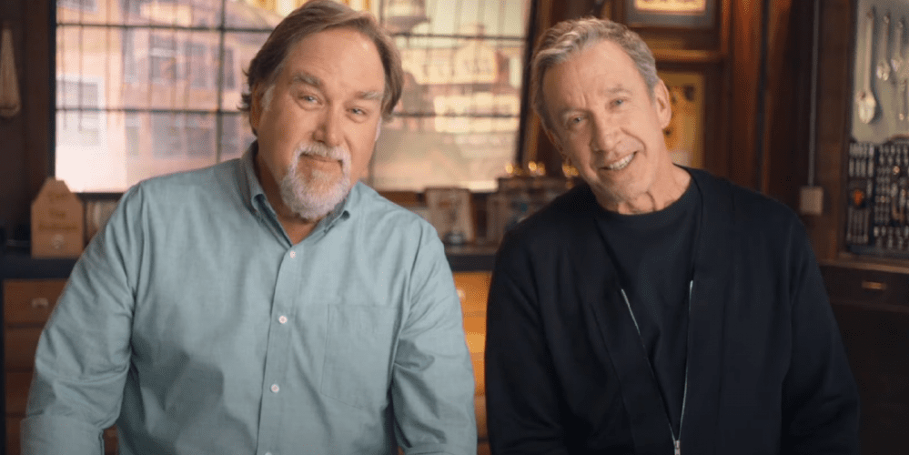 tim-allen-richard-karn-assembly-required-history-channel-quell'uragano di papà