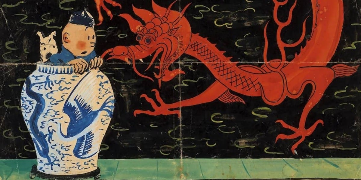 Tintin: un disegno originale è stato venduto all'asta per 2,6 milioni di euro
