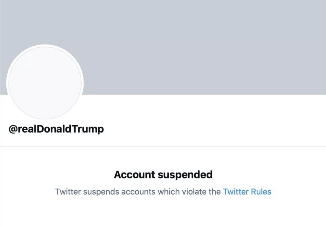Twitter ha deciso di bannare a vita Donald Trump