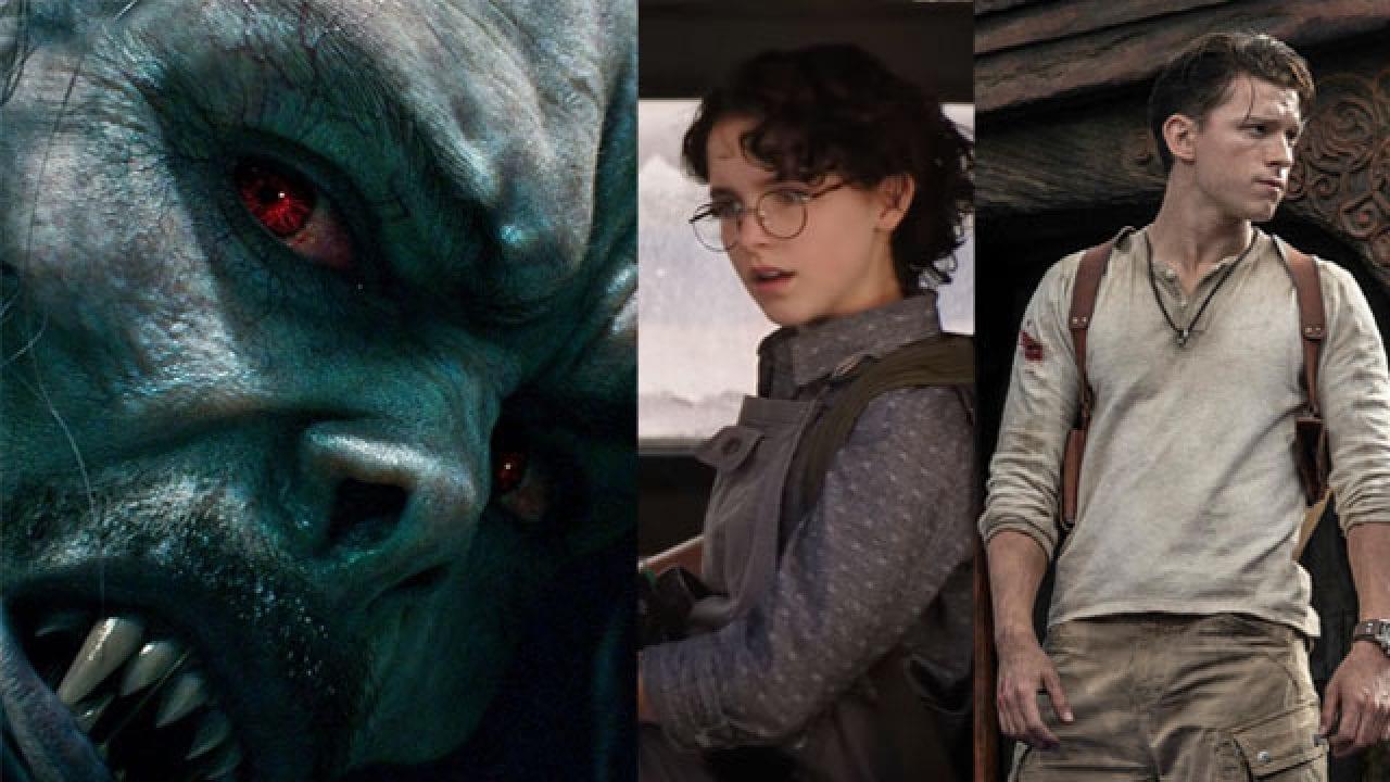Uncharted, Ghostbusters Legacy e Morbius: nuova ondata di rinvii da Sony