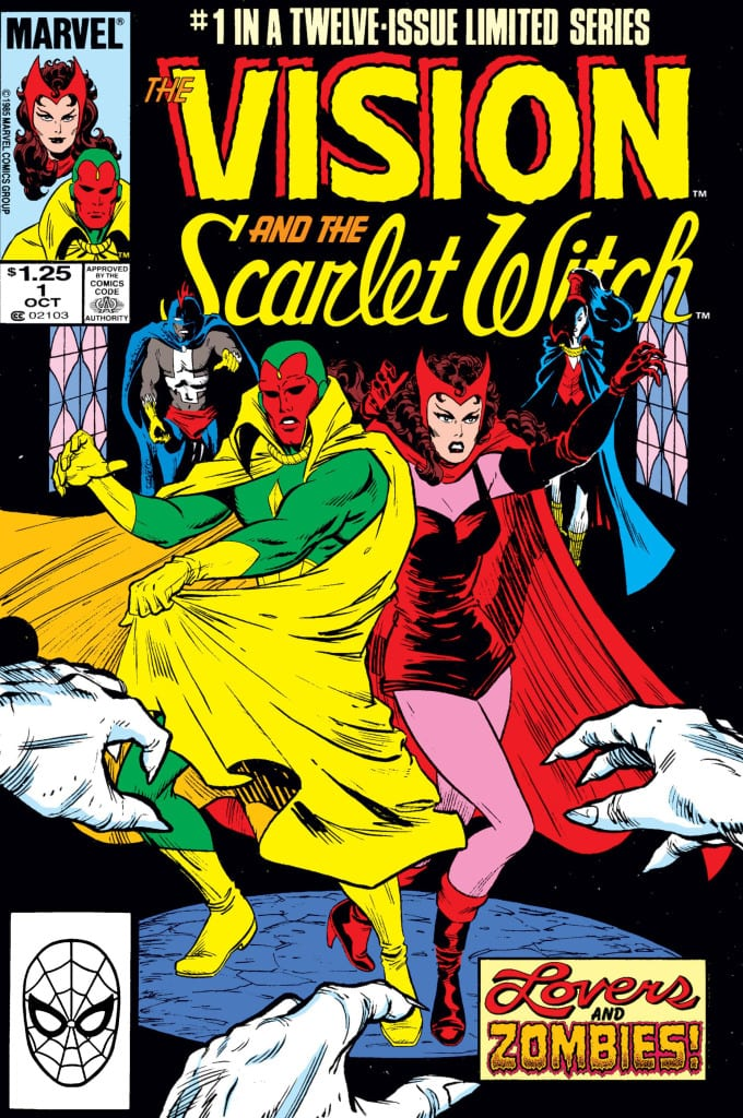 Vision scarlet issue 1
