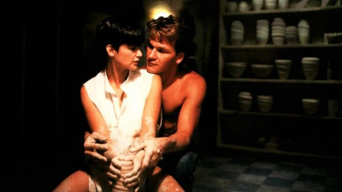 Ghost, scene d'amore film più belle