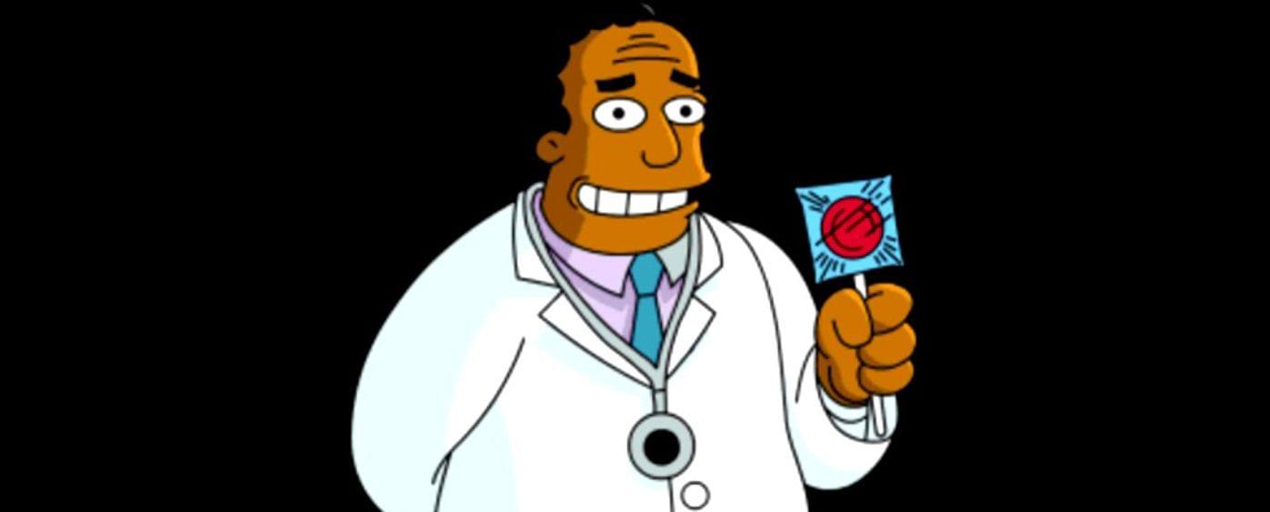 I Simpson: la voce originale del Dr.Hibbert lascia il posto ad un attore nero