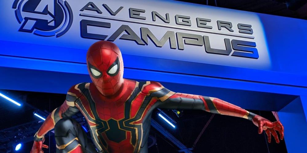 Avengers Campus disneyland