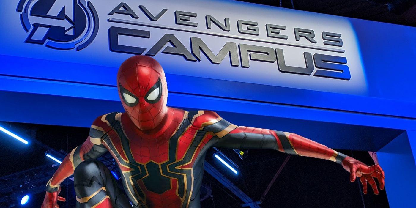 Avengers Campus di Disneyland: primo sguardo al palazzo di Spider-Man