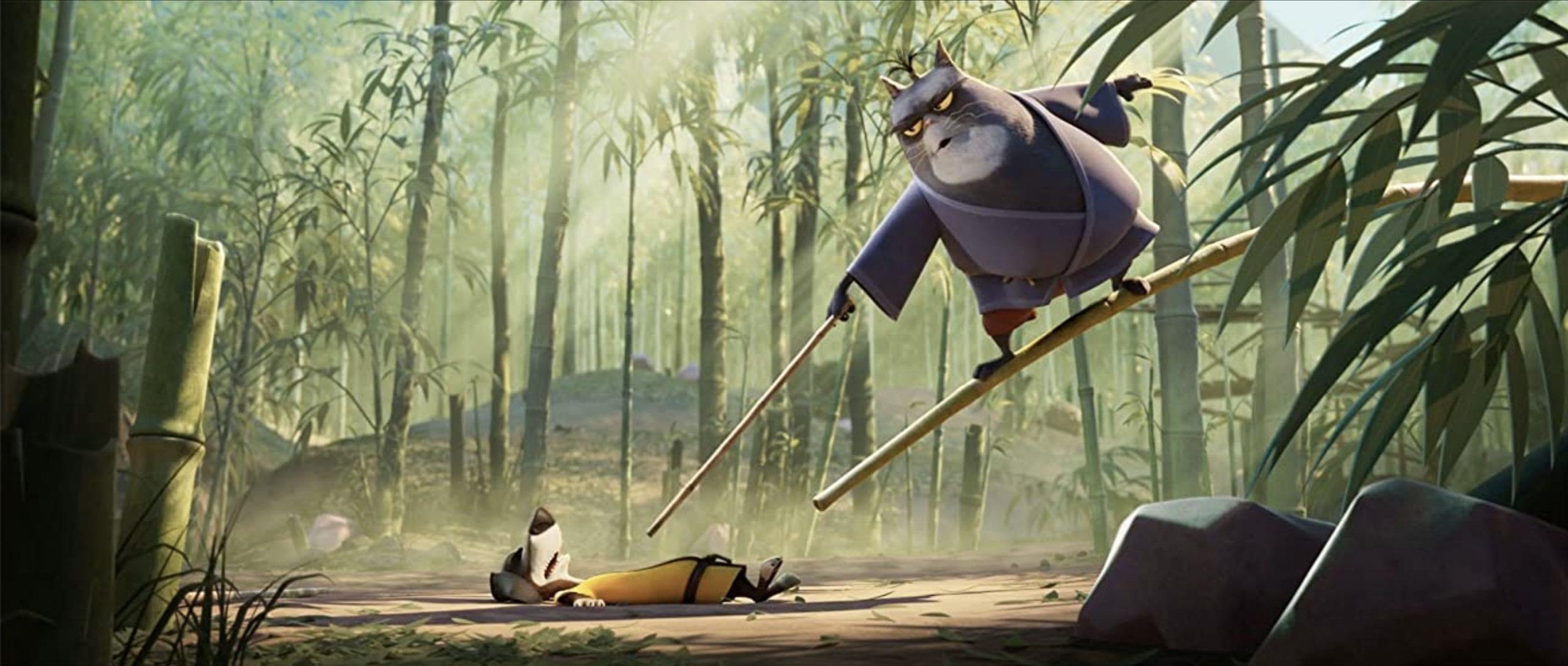Blazing Samurai: il primo sguardo al remake animato di Blazing Saddles