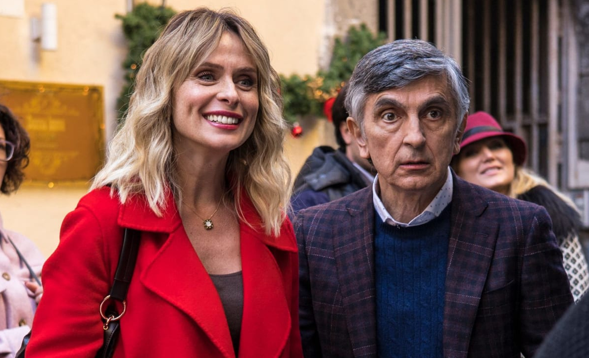 Con tutto il cuore: le immagini dal set con Vincenzo Salemme e Serena Autieri