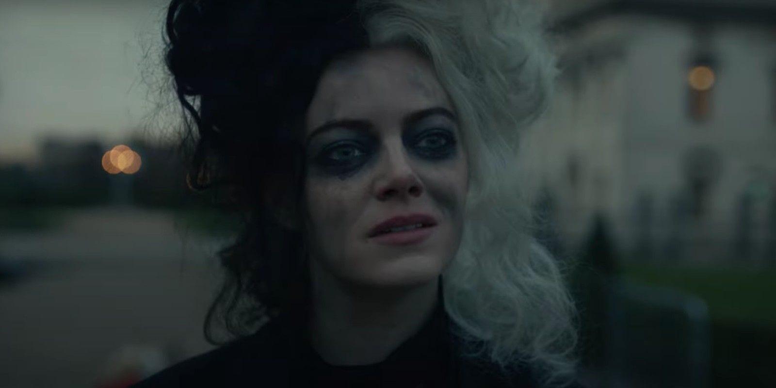 Crudelia: nel trailer Emma Stone reinventa la cattiva de La Carica dei 101