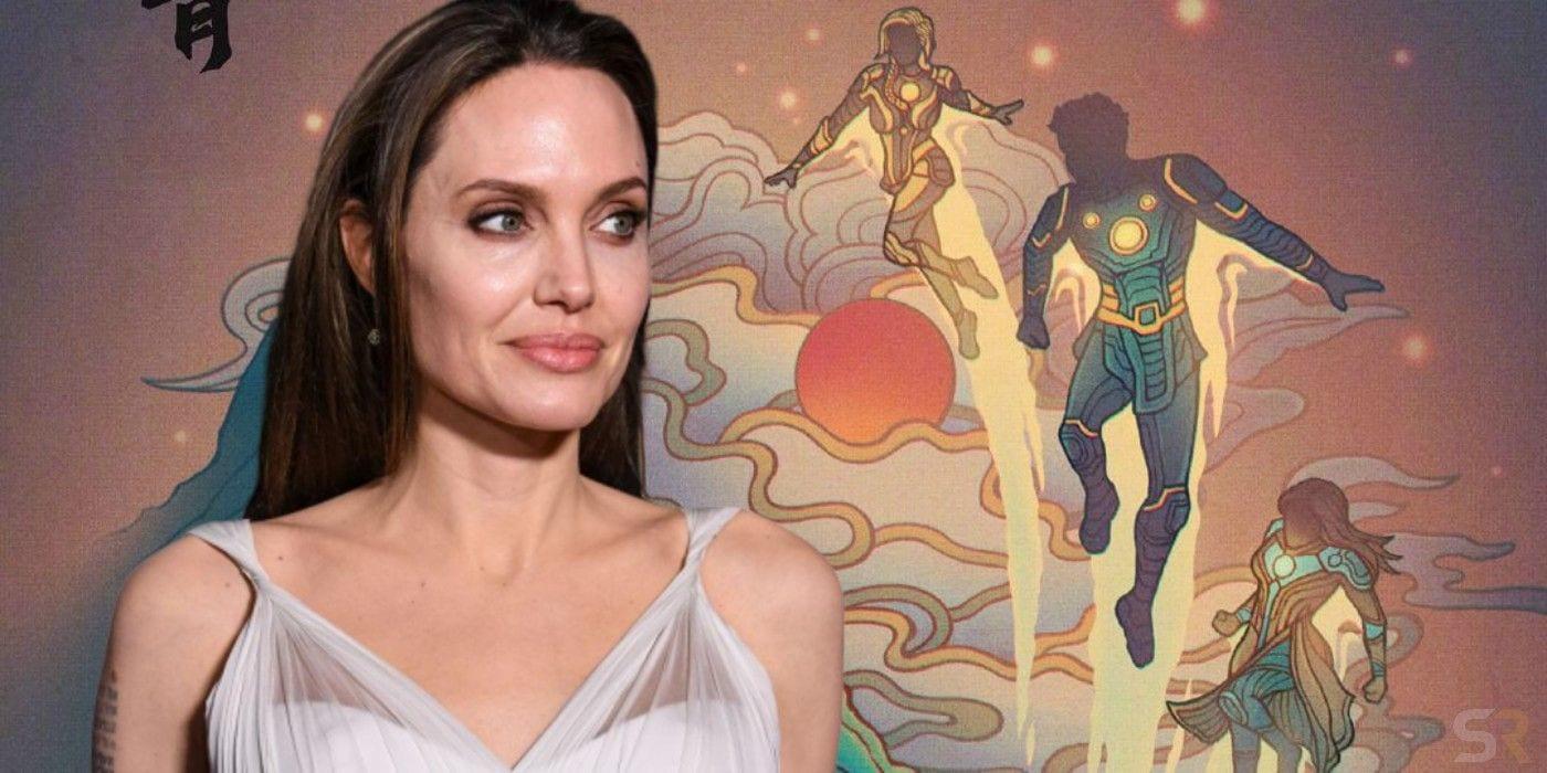 Angelina Jolie si è unita al cast di Eternals per una nuova visione Marvel