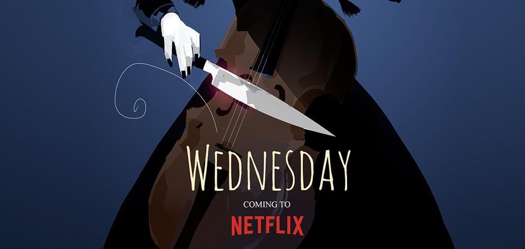 Wednesday, svelati poster e primi dettagli della serie Netflix di Tim Burton