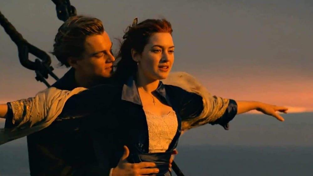 scene d'amore film più belle, titanic