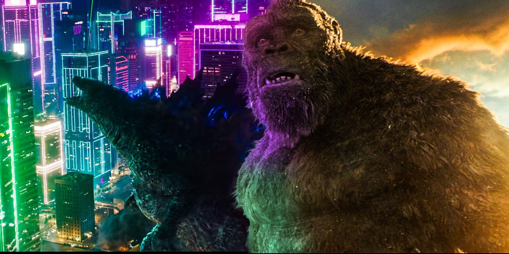 Godzilla vs Kong: il nuovo trailer fa sembrare che Kong venga sconfitto
