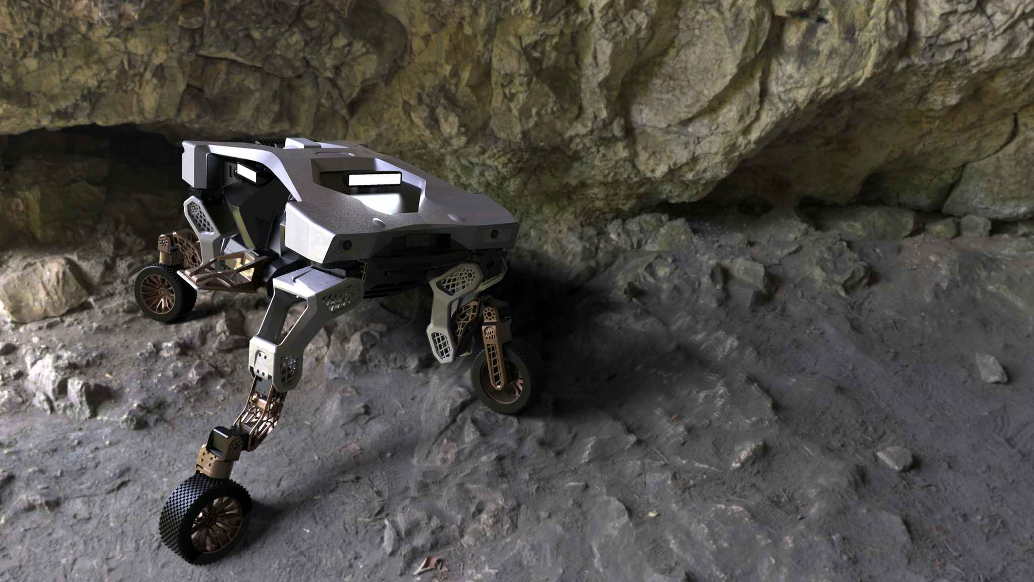 Hyundai guarda a Boston Dynamics per creare automobili dotate di gambe