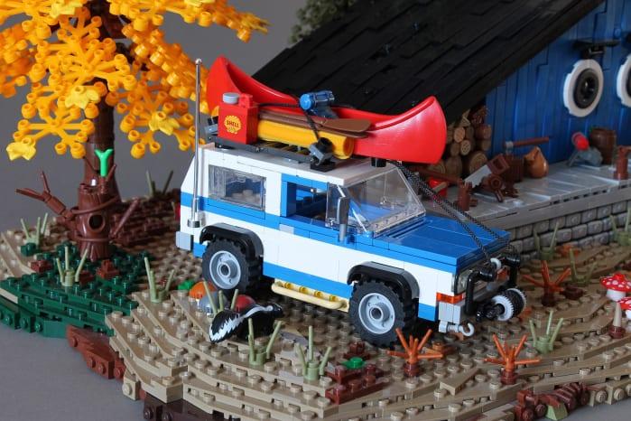 LEGO Blue Cottage
