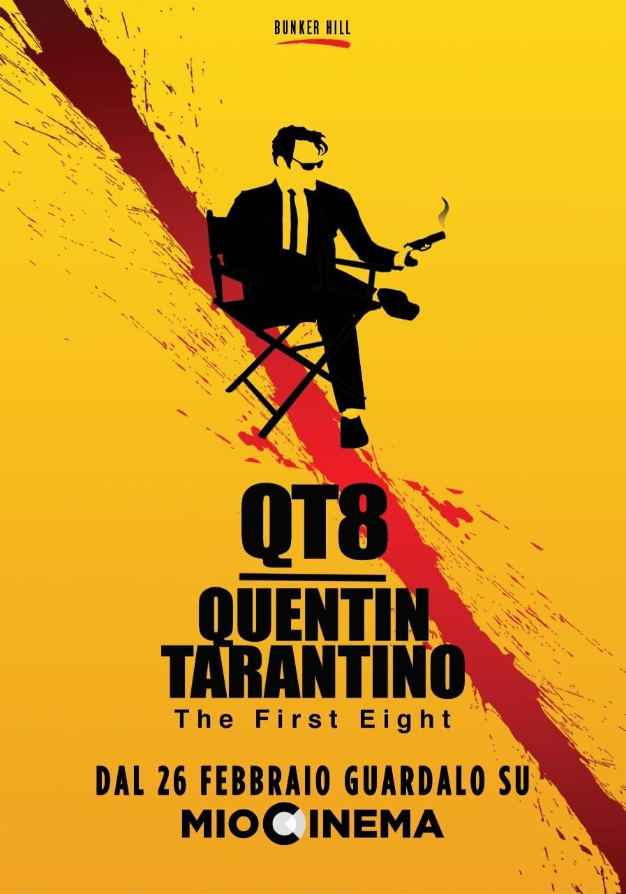 QT8: il documentario su Quentin Tarantino è su MioCinema