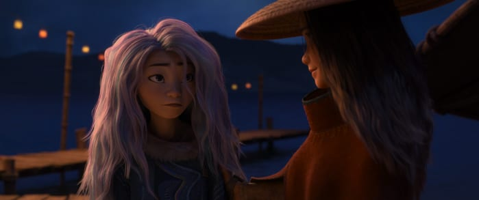 Raya e l'ultimo drago Sisu e Raya