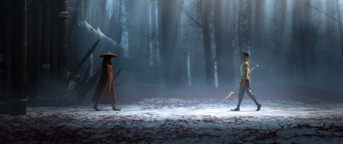 Raya vs Namaari Raya e l'ultimo drago