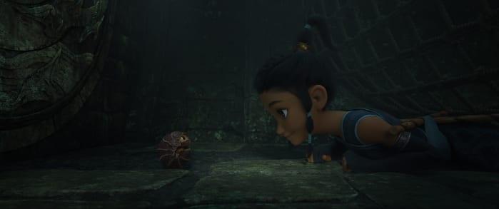 Raya e l'ultimo drago, raya giovane
