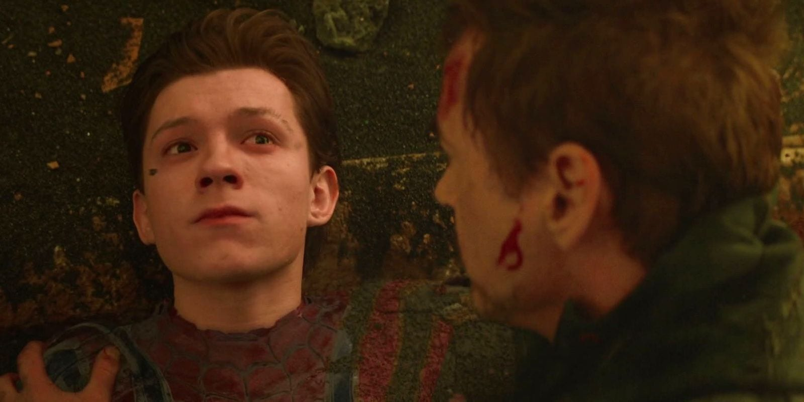 Tom Holland ha amato girare la scena della morte di Spider-Man
