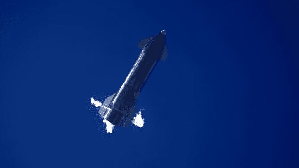 SN9: volo ottimale e atterraggio non proprio perfetto