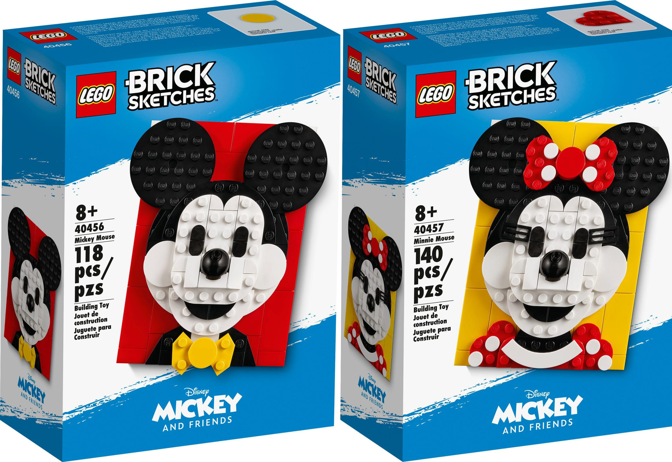 LEGO Sketches Disney