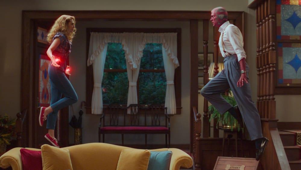 easter egg del quinto episodio di WandaVision - fight