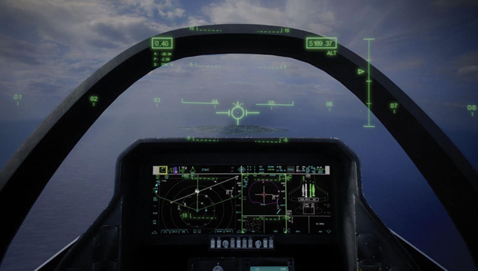 Il nuovo F-35 ha uno schermo touch, ma è una buona idea?