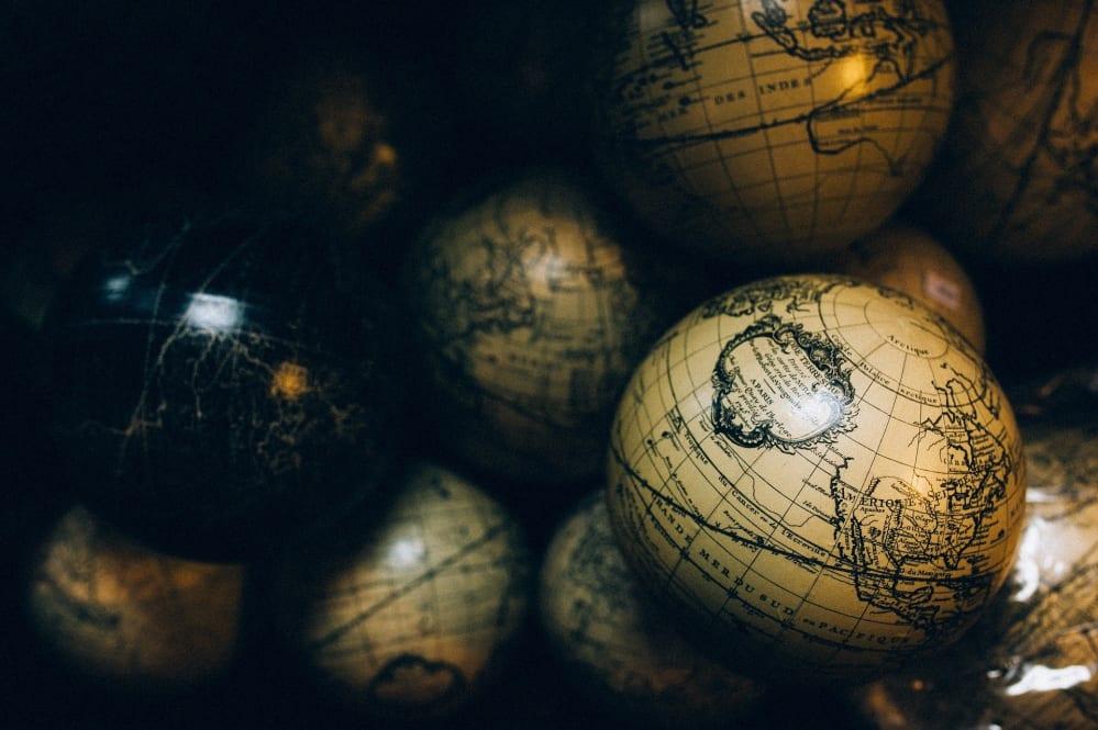 globi mappamondo