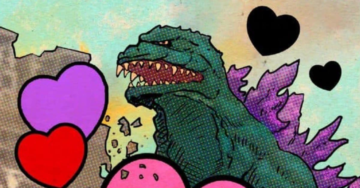 Godzilla: i divertenti biglietti per festeggiare San Valentino