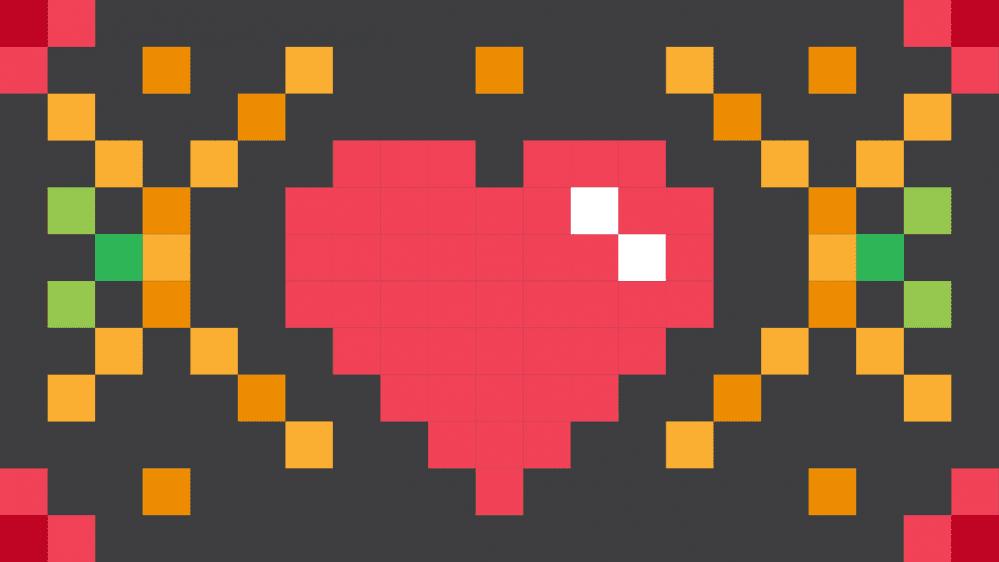 cuore pixel