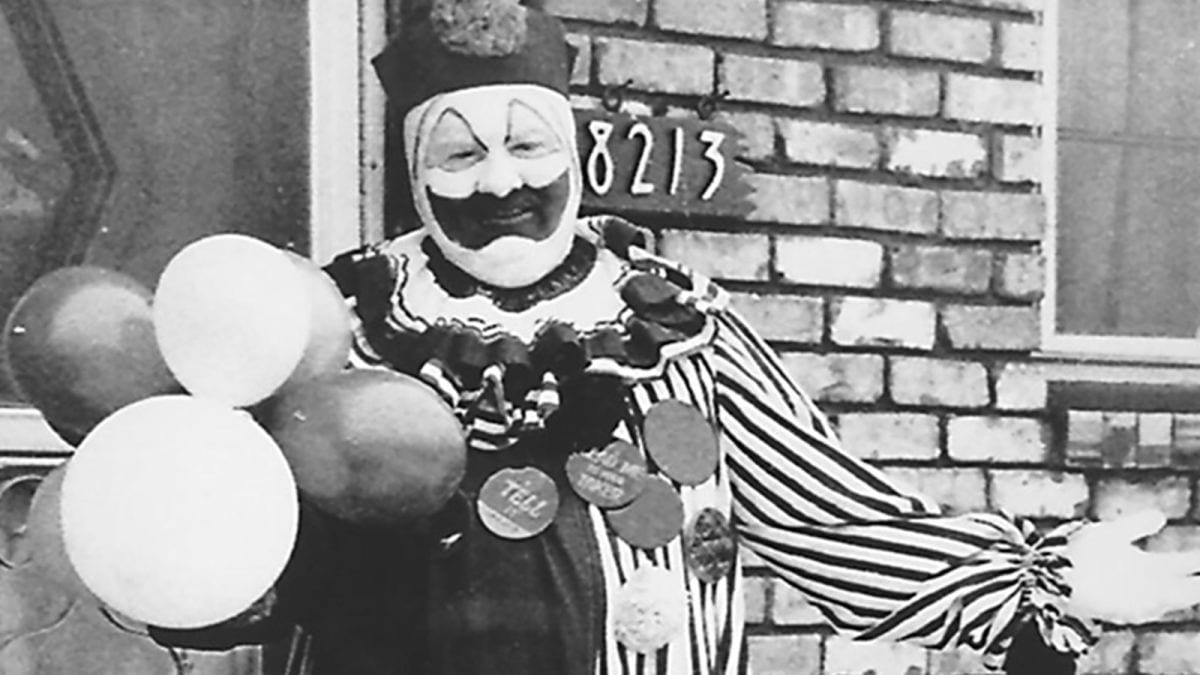 John Wayne Gacy: il trailer della docuserie sul clown assassino