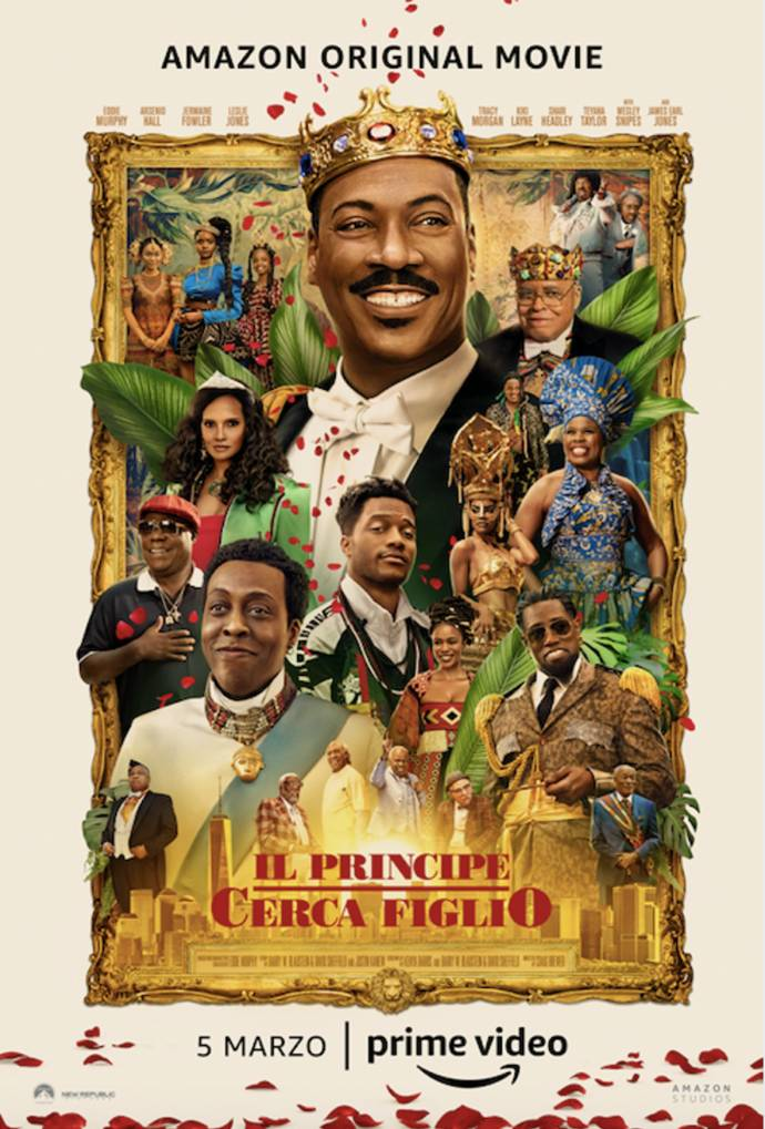 Il principe cerca figlio: nuovo trailer del film Amazon Prime Video