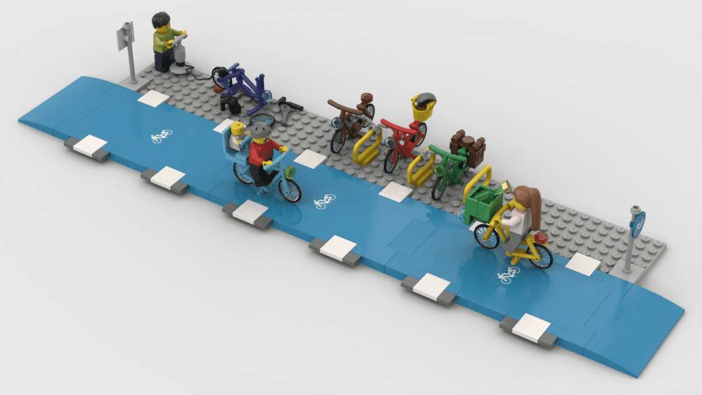 lego bikes lane