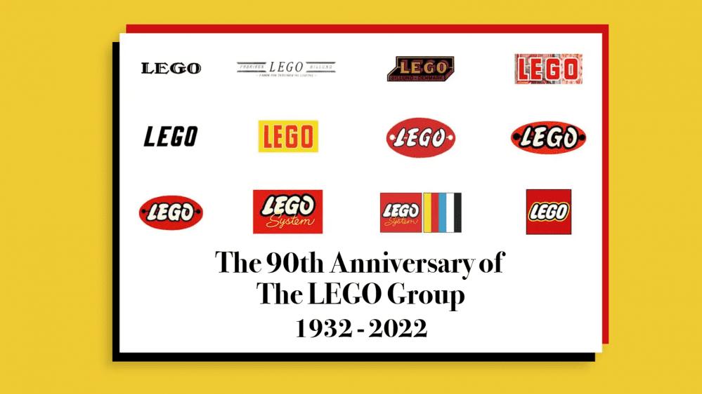 I 90 anni di LEGO