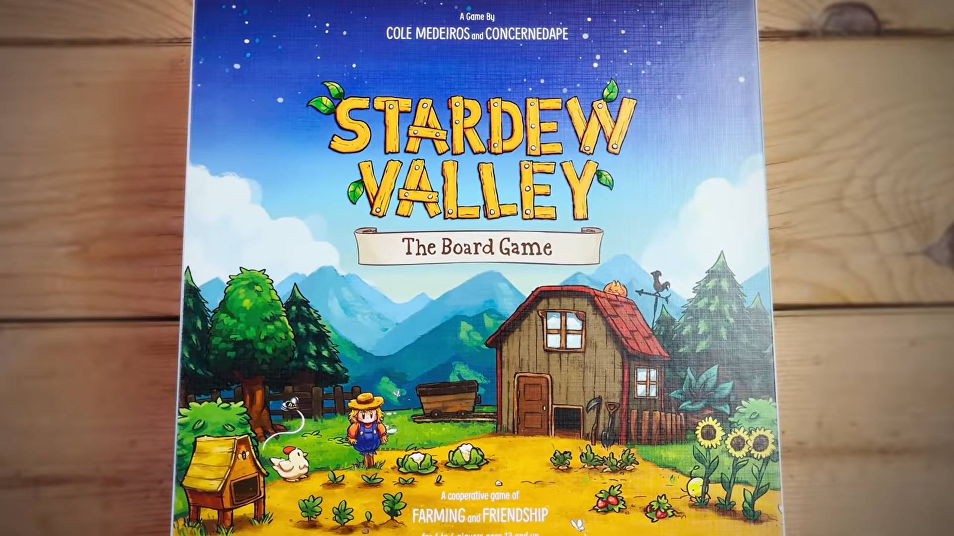 Stardew Valley si manifesta anche in formato gioco da tavolo