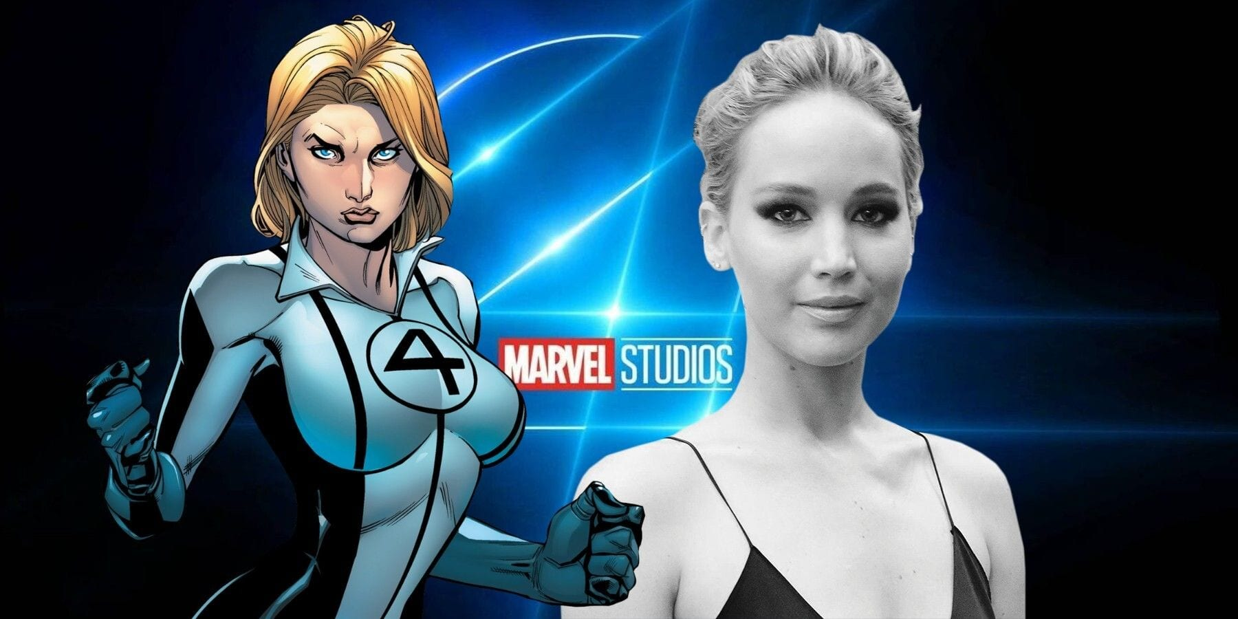 Jennifer Lawrence non sarà Sue Storm nei Fantastici Quattro della Marvel