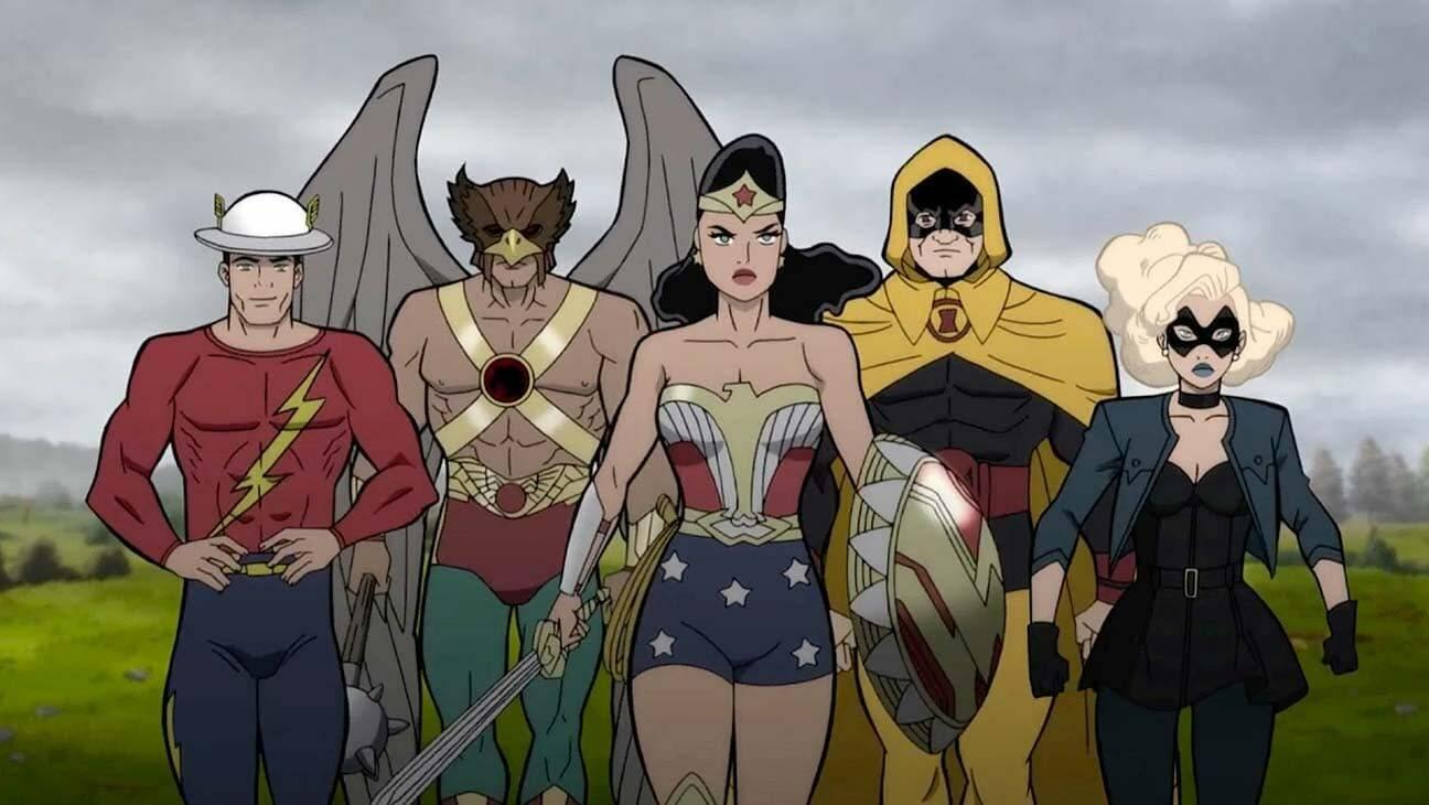 Justice Society World War II clip esclusiva