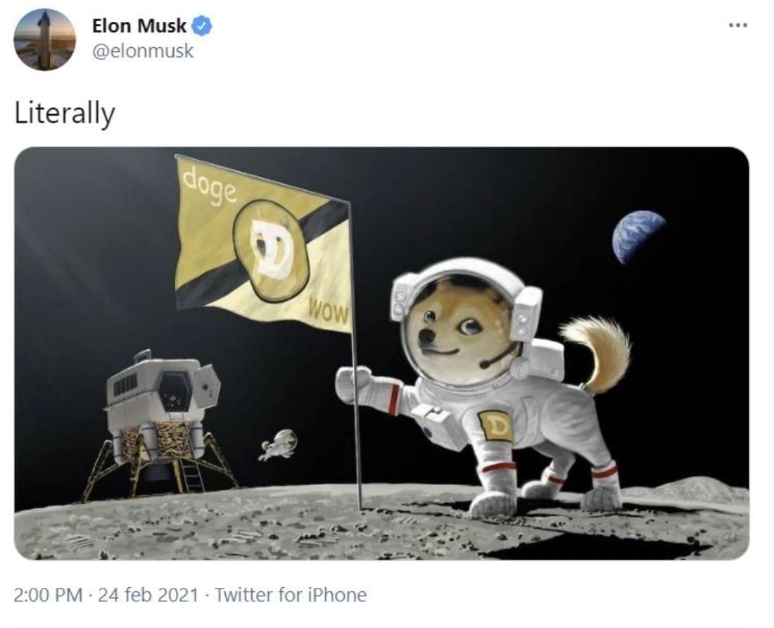 SpaceX DOGE-1: il cubesat finanziato con un pagamento in dogecoin, nel 2022 nell'orbita della Luna