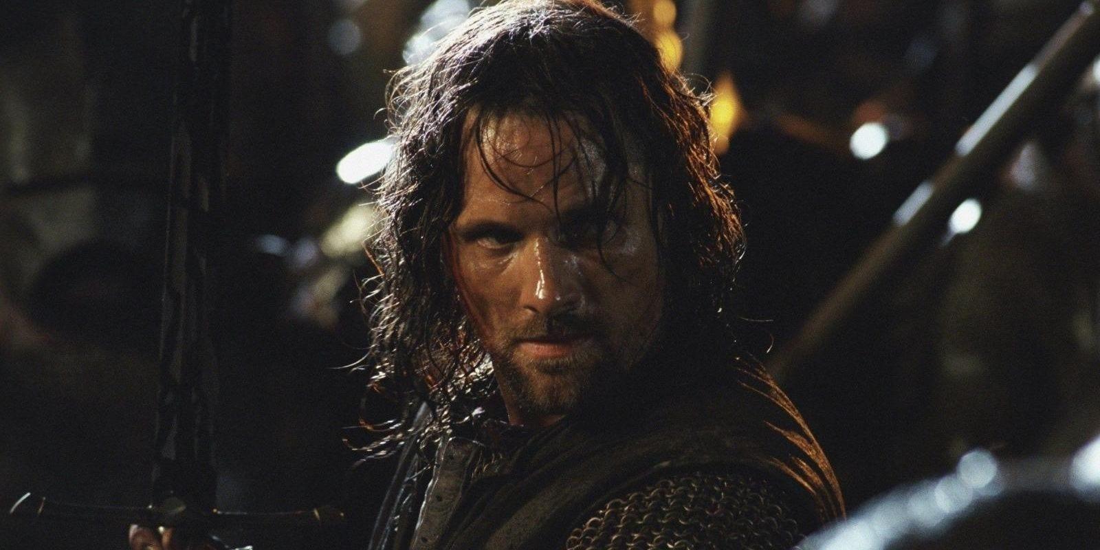 Viggo Mortensen:  curioso sulla serie Amazon de Il Signore degli Anelli