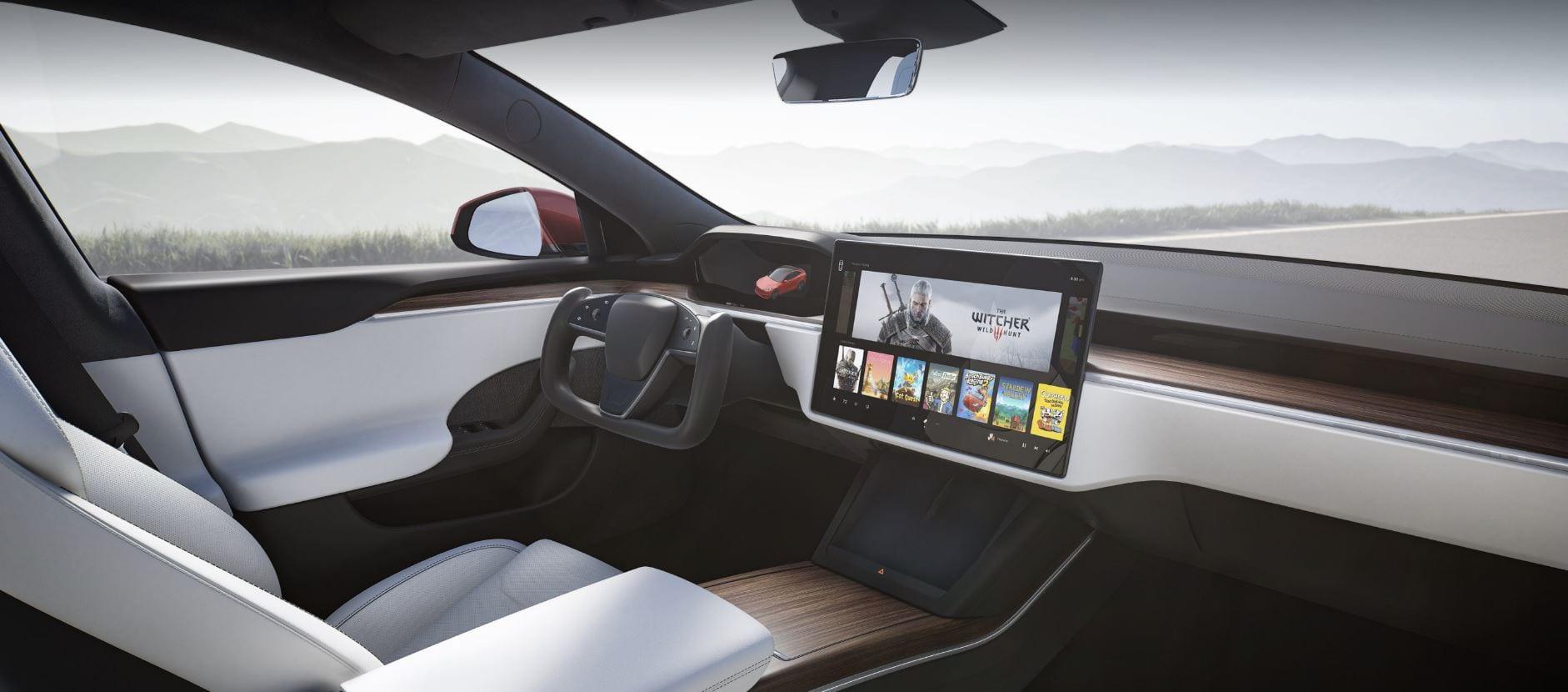 """Tesla Model S, il cuore del sistema di gaming è di AMD: """"poco meno potente di una nuova PS5"""""""