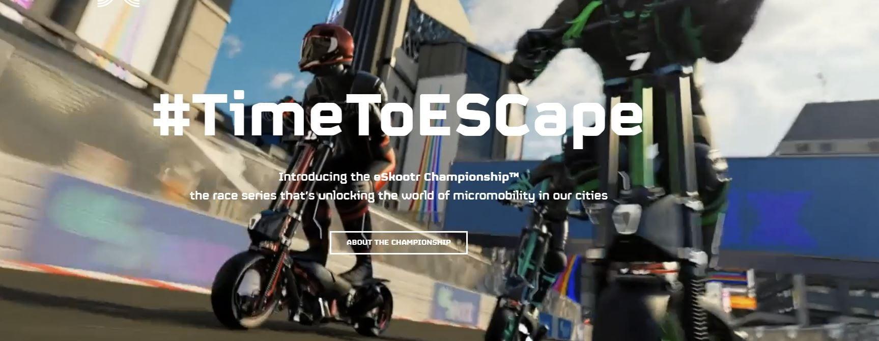 eSkootr Championship: i monopattini elettrici sfrecciano a 100Km/h nel primo campionato mondiale