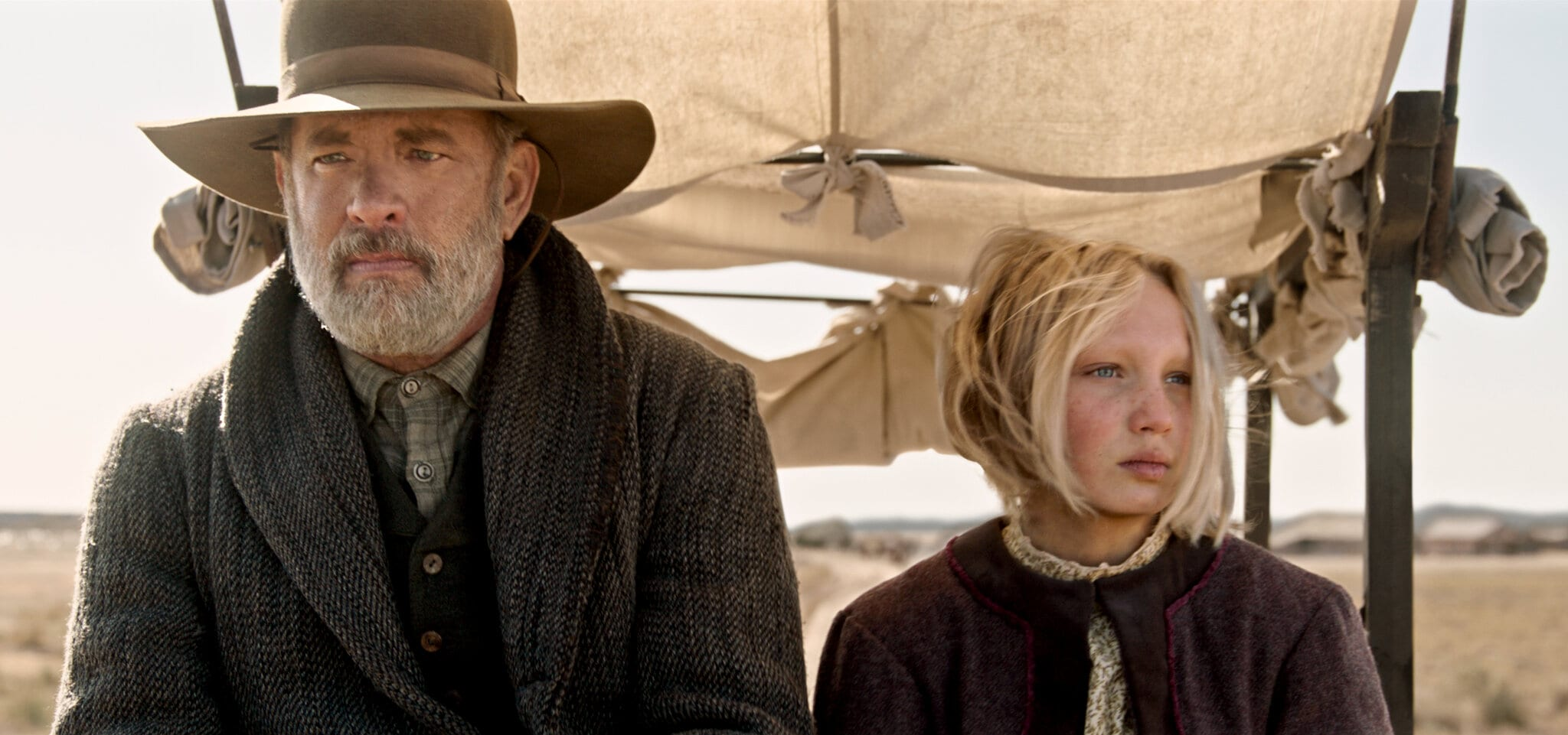 Notizie dal Mondo, la recensione: Tom Hanks conquista il West