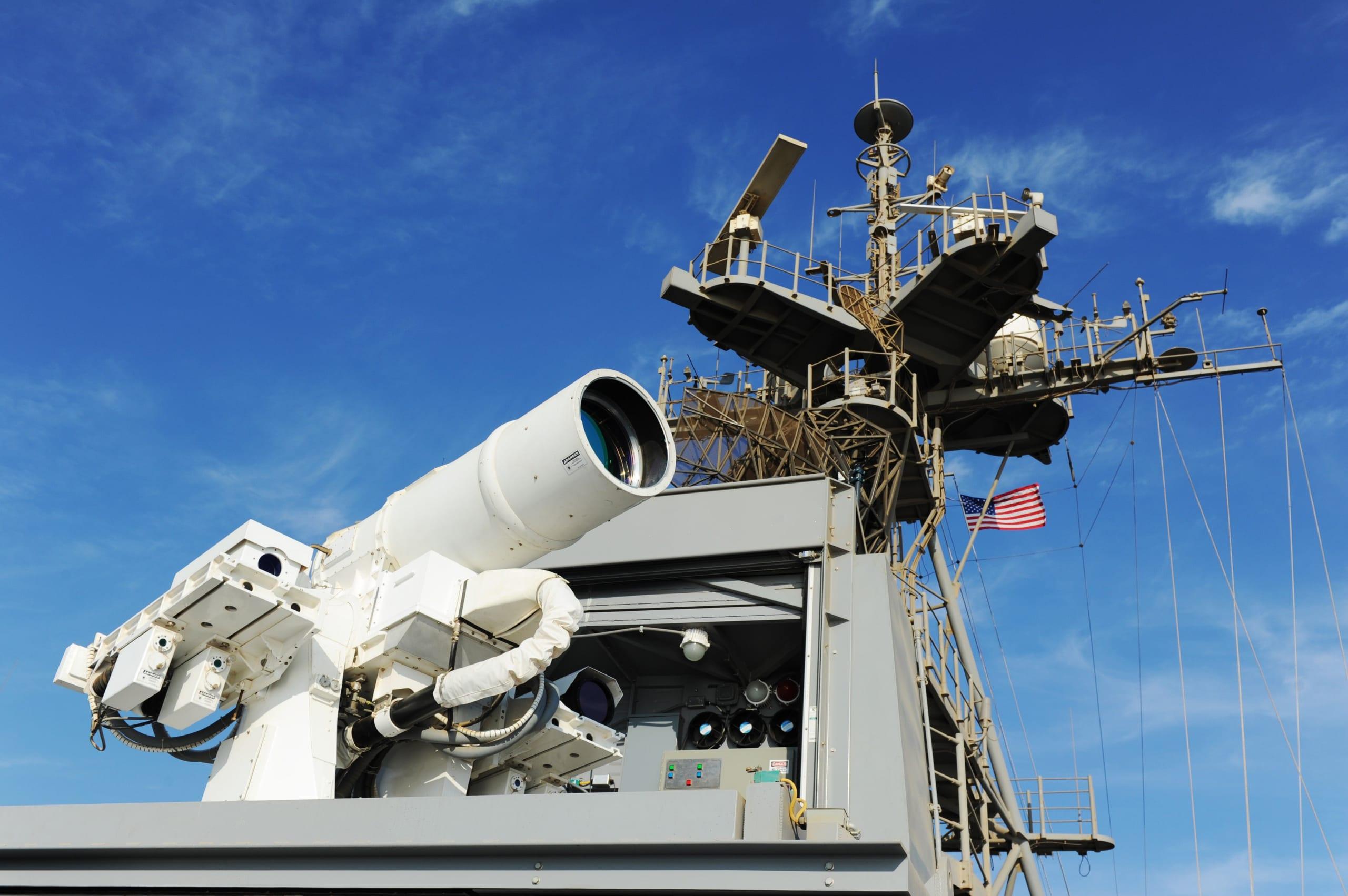 La marina statunitense ha costruito l'arma laser più potente al mondo