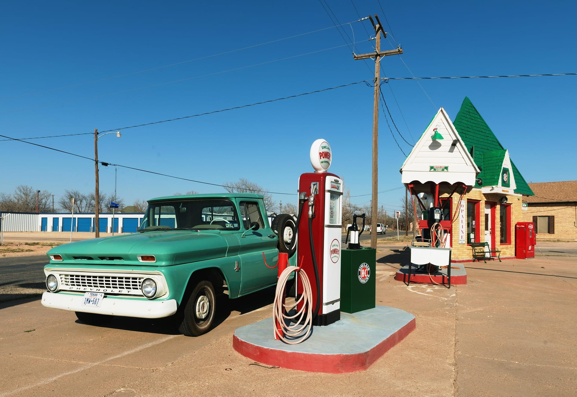 stazione benzina texas