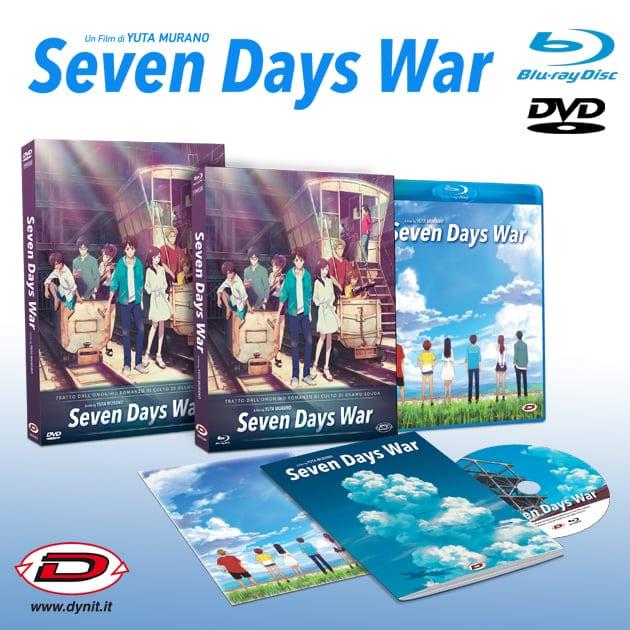 Seven Days War: il film è disponibile in Home Video